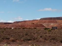 Iron Knob mine, SA
